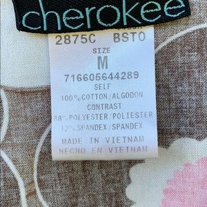 Cherokee Tops - Women's Scrub Top Size Medium